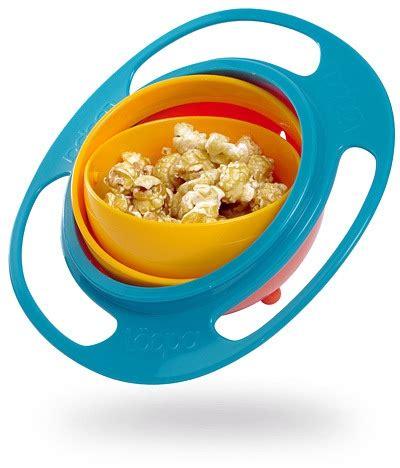 no spill bowl loopa gyro bowl keeps food from falling