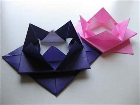 Origami Lotus Flower For - origami maniacs easy origami lotus flower