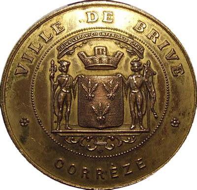 chambre de commerce brive medailles jetons brive