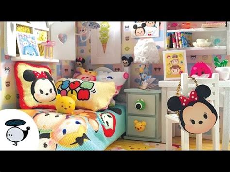 The Make Room Planner diy tsum tsum dollhouse miniature room with working