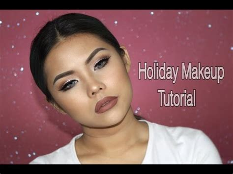 tutorial makeup indonesia holiday makeup tutorial indonesia youtube