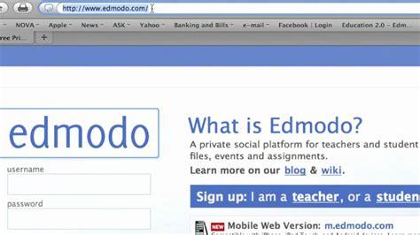 edmodo google sign in edmodo sign up mov youtube