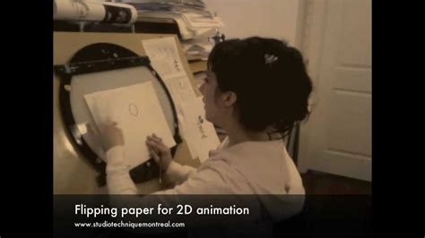 How To Make An Animation With Paper And Pencil - flipping paper for 2d animation
