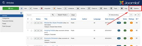 joomla blog layout number of articles how to use joomla article versions