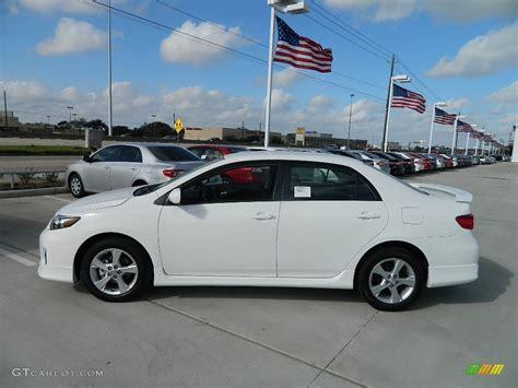 Toyota Corolla S 2012 White 2012 Toyota Corolla S Exterior Photo 59746616