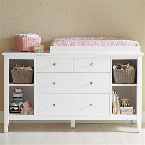 changing table with drawers and shelves baby change table with chest of drawers shelves buy 30