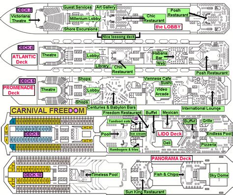Carnival Valor Floor Plan by Carnival Freedom Itinerary Map Find Carnival Freedom