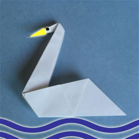easy origami swan swan origami how to make origami swan child origami