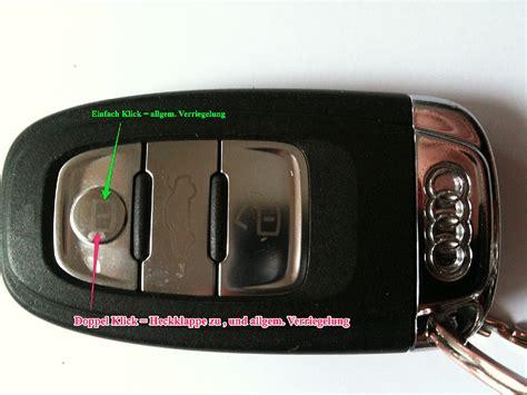 1 audi schluessel : Elektrische Heckklappe : Audi Q5 : #203223447