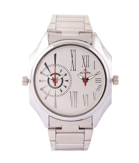 acura watches acura silver analog wrist price in india buy acura