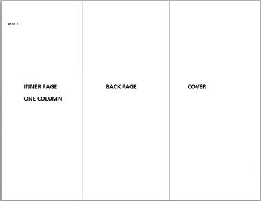 tri fold brochure template google docs template design