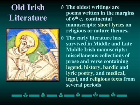 themes in early modern literature ppt early british literature powerpoint presentation