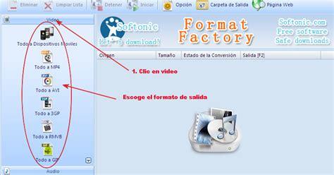 format factory para que es convertir y recortar v 237 deos f 225 cilmente con format factory