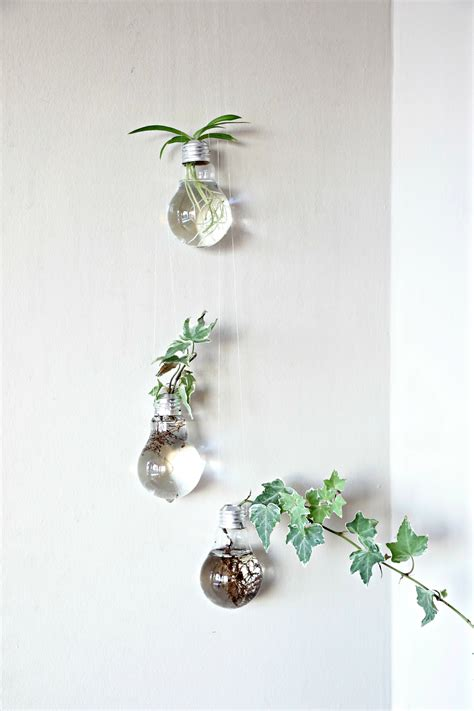 Light Bulb Planter by How To Make Your Own Upcycled Light Bulb Planters Green
