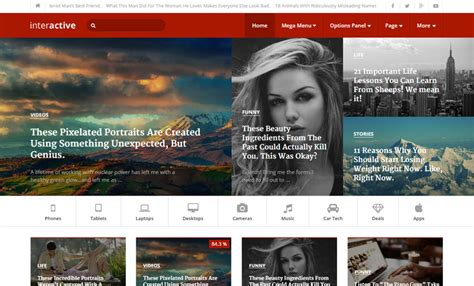 tumblr themes interactive image gallery interactive wordpress themes