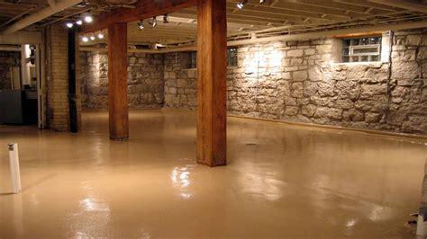 rustic colors  walls concrete basement floor paint