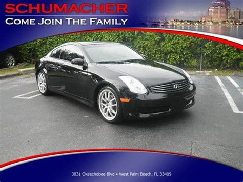 infiniti g35 stats find used 2006 infiniti g35 coupe black on black automatic
