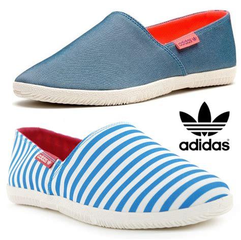 new adidas adidrill canvas espadrilles plimsolls slip on