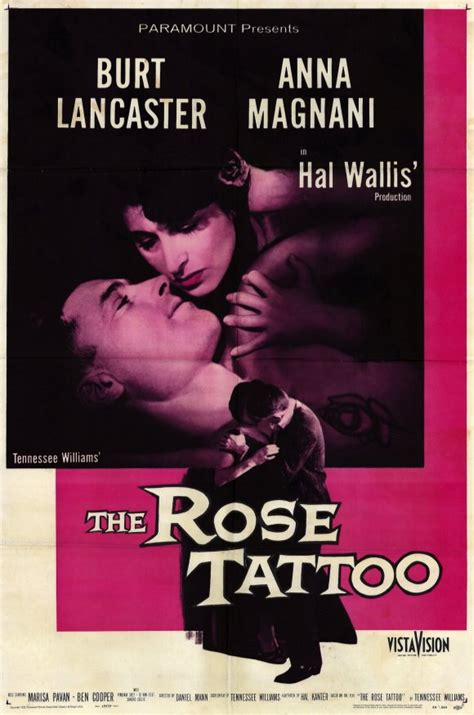 the rose tattoo film the posters from poster shop
