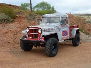 Truck Vs Jeep Road 1960 Willys Jeep Truck V8 Na Prodej