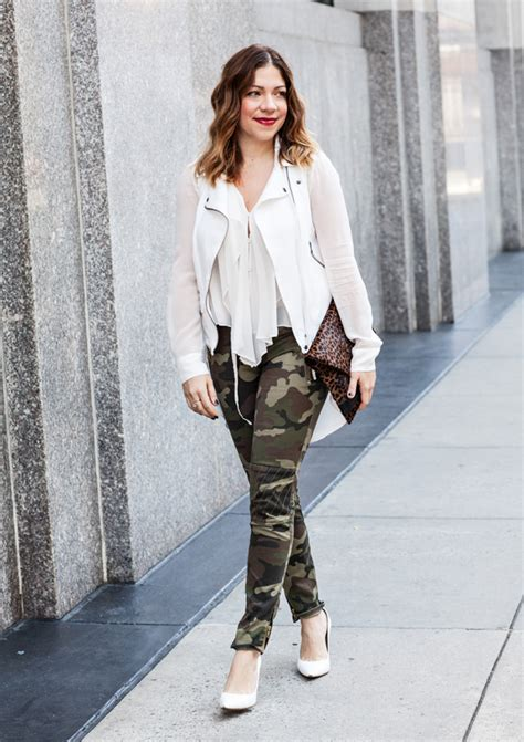 how to wear printed pantstrousers fall2013 pinterest camo pants fall fashion