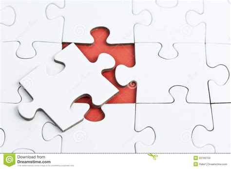 Puzzle Part puzzle with missing part stock image image of