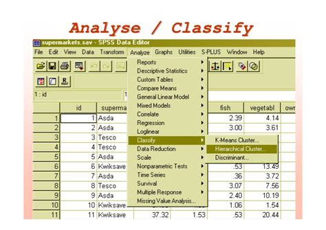 spss tutorial cluster analysis spss tutorial cluster analysis