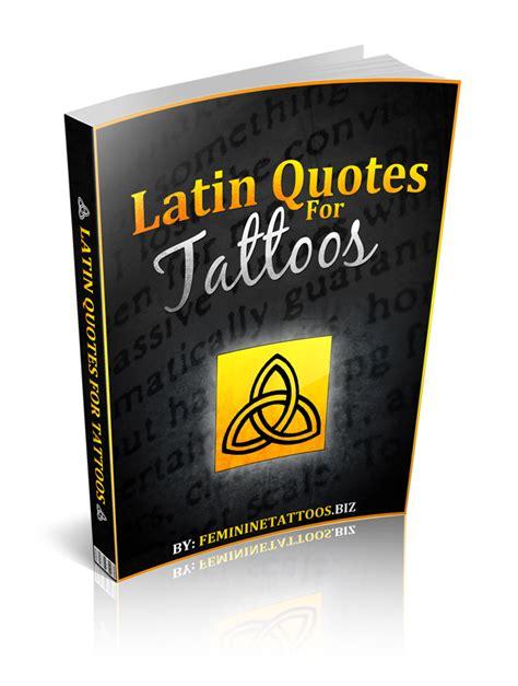 meaningful latin quotes  tattoos quotesgram
