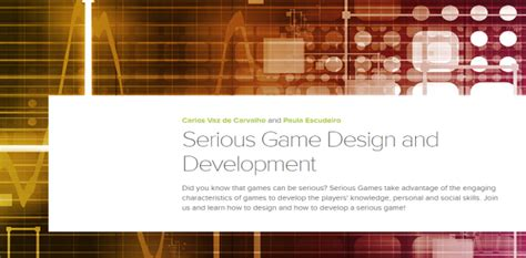 game design and development mladiinfo iversity online course serious game design and