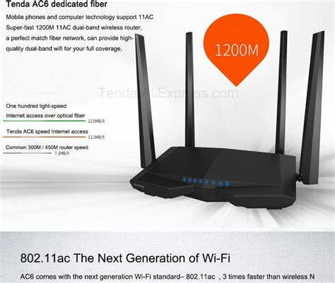 tenda ac dual band mbps wifi router wi fi repeater wireless wifi router ac gg