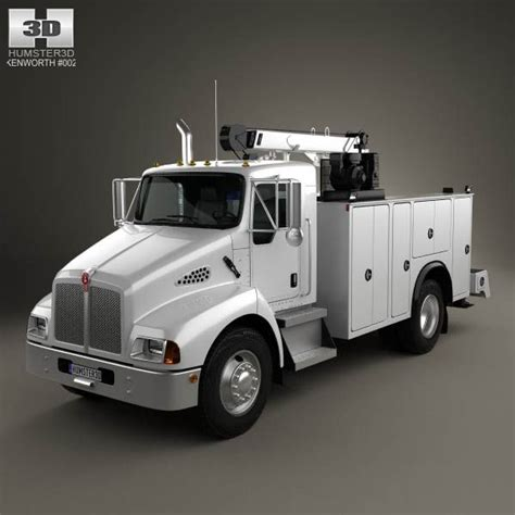 kenworth 2010 models kenworth t300 heavy service truck 2006 3d model d the