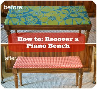 how to recover a piano bench blue susan makes how to recover a piano bench