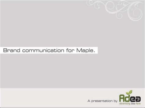 Pg Mba Brand Manager by Brand Positioning Creatives For Maple Furniture