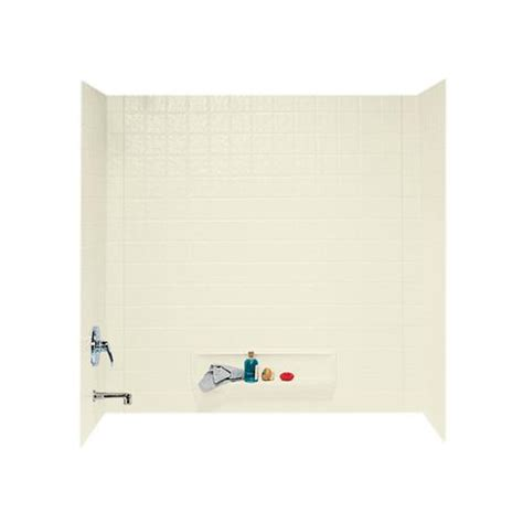 bathtub panel kits swantile ti 3 three panel tub wall kit at menards 174