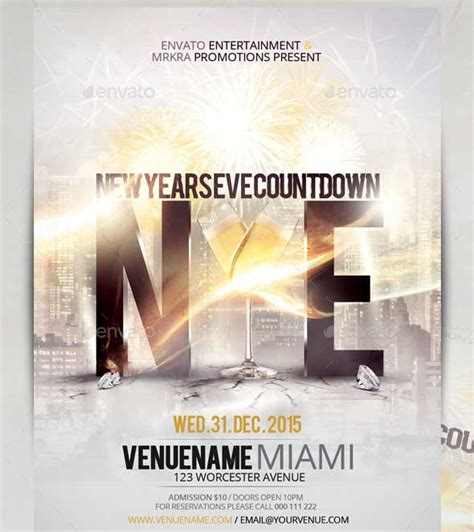 new year flyer design 35 best psd event flyer templates designmaz