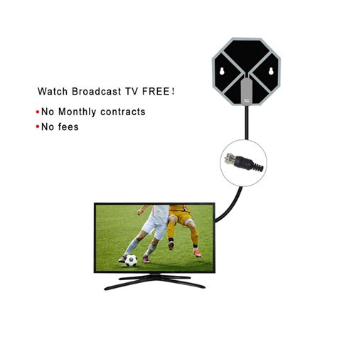 Promo Hd Clear Vision Antenna Antena Tv Lcd Dan Led Digital Hi ultra hd clear vision hd digital indoor antenna for tv