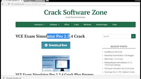 vce software full version crack download vce exam simulator 2 3 4 crack full patch with serial key