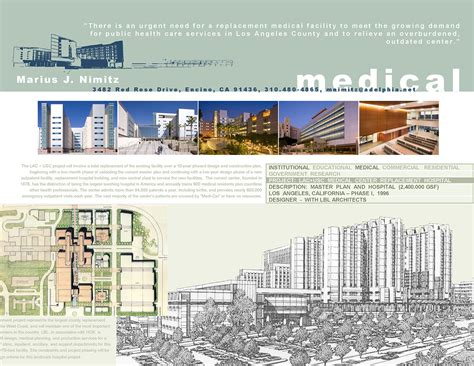 lac usc replacement hospital los angeles ca on behance