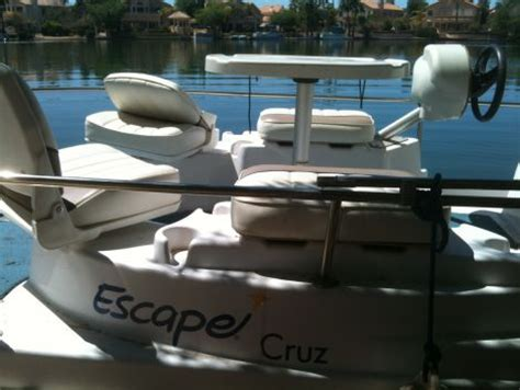 12 foot pontoon boat for sale 2004 12 foot escape cruz pontoon small boat for sale in