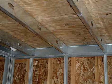 Metal Ceiling Joist by Login Engineering