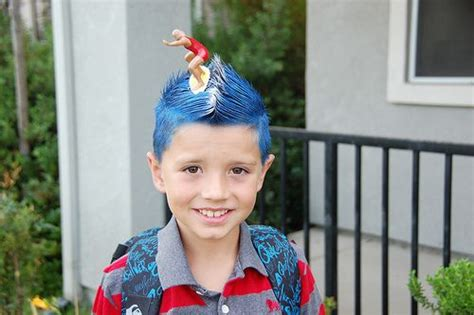 surfer kids hair styles for boys great crazy hairstyles for quot wacky hair day quot at school
