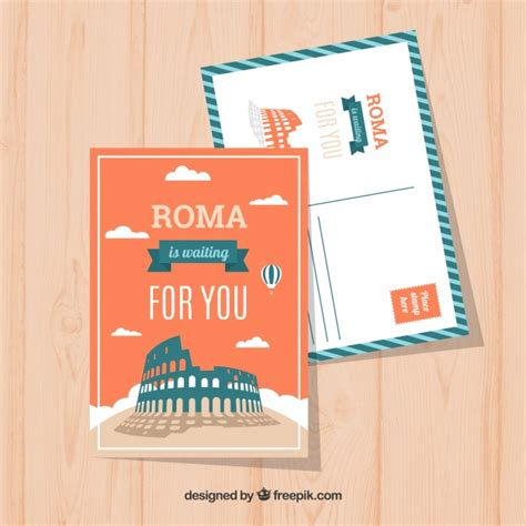 Free Postcards Templates With Designs