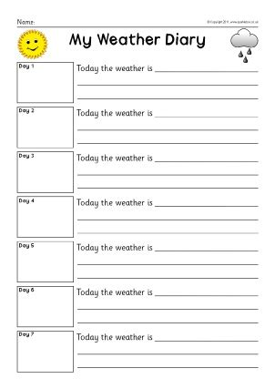 diary writing frames and printable page borders ks1 ks2
