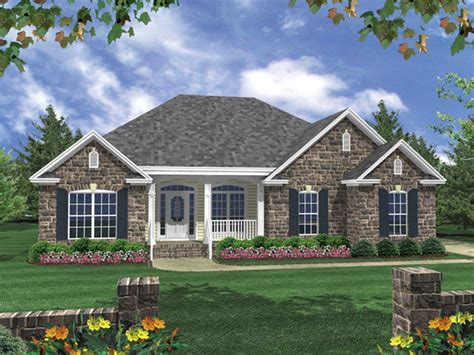 one story brick ranch house plans one story ranch style 1 story house plans with basement duch ranch home plan 077d 0073 house plans and more