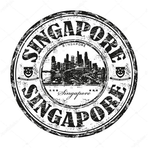 singapore rubber st singapore grunge rubber st stock vector 169 oxlock