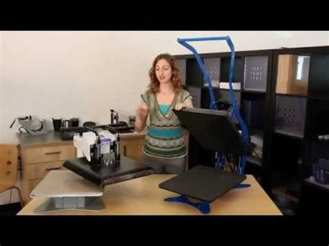 how to choose a george knight heat press youtube