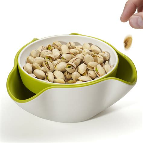 double dish snack bowl the green head