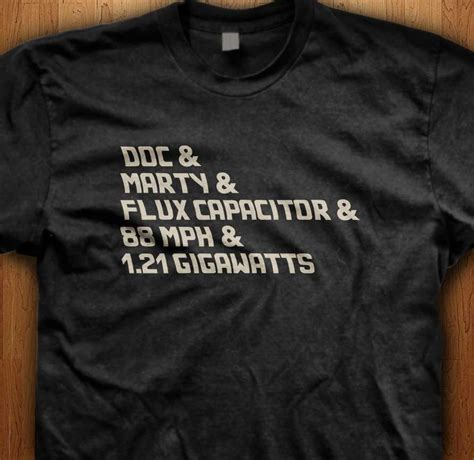 flux capacitor ringtone official doc marty flux capacitors back to the future t shirt