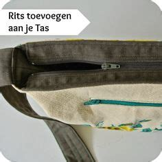 tutorial tas resleting zipper ndc ritsen inzetten on pinterest zipper tutorial zipper