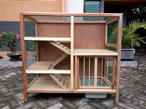 membuat rumah tingkat dari kayu ingin membuat kandang kucing sendiri ikuti cara ini